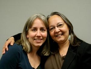 Kristine King and Sharon Svarny-Livingston.