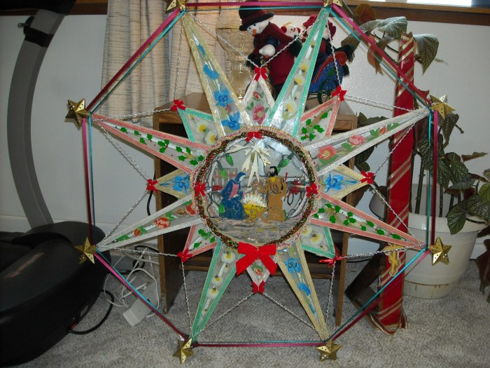 Originally from Kashega village, Starosta Nick Lekanoff, Sr. is the keeper of this beautiful star.
