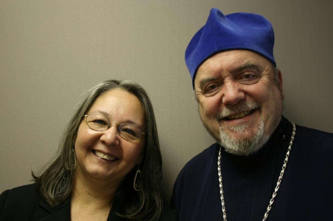 Sharon and Rev. Dr. Michael Oleksa.