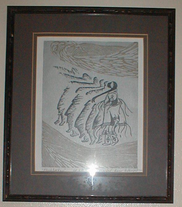 "One of my favorite Svarny Hawthorne prints - ""Flashbacks""."