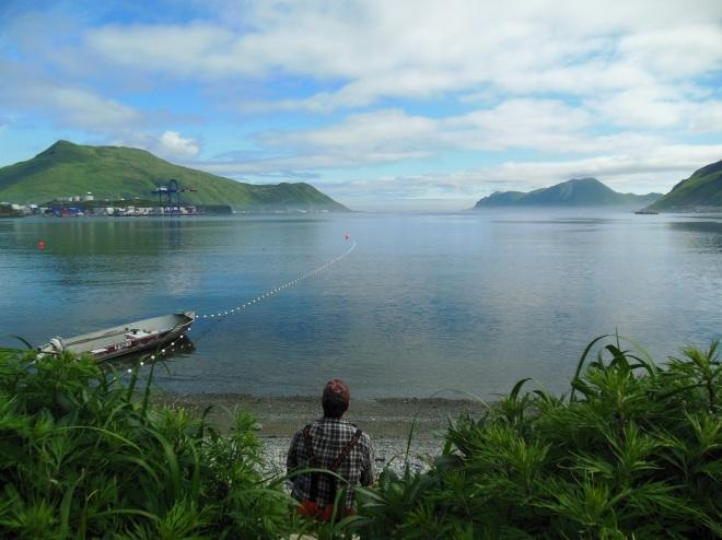 Front Beach, Unalaska, Alaska.