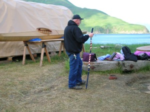 He loved his adopted home in the Aleutians.