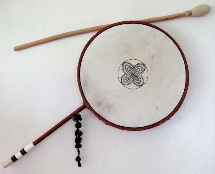 Laresa's used drum by Gert